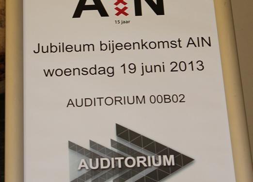 Verslag 15-jarig jubileum AIN