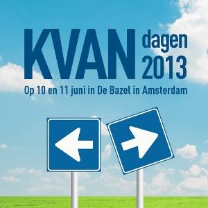 KVAN-dagen 2013: 10 en 11 juni 2013 in Amsterdam