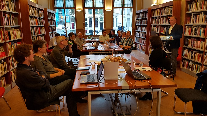 Prissma GO InfoBattle bij AIN in Amsterdam 13-9-2018