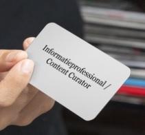 Kennissessie 'De Informatieprofessional als Content Curator!' 11/3